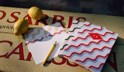 Matilda Goad has designed a summery line of stationery for Papier