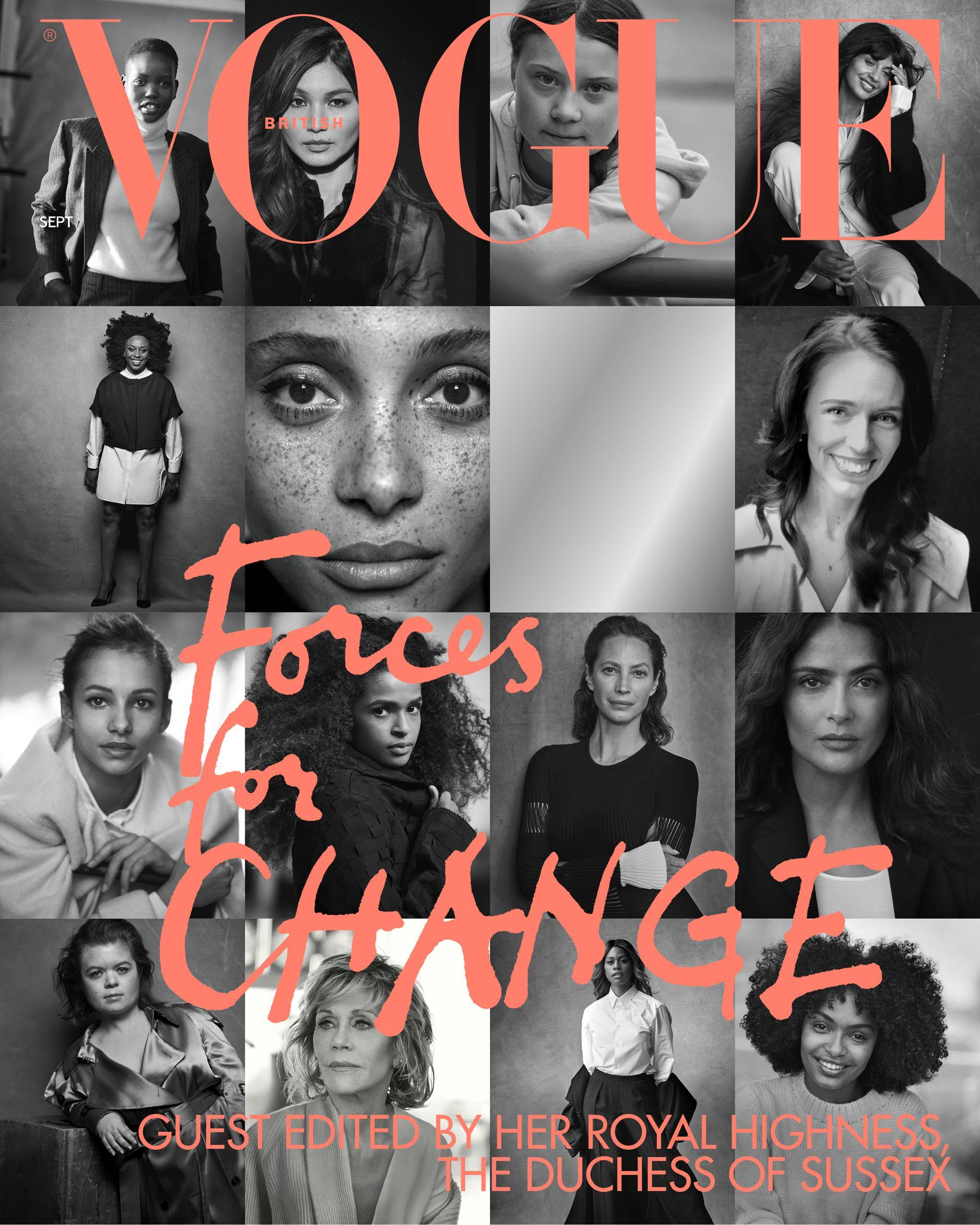Duchess of Sussex champions climate change activists, as she guest edits the September issue of Vogue