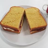 Jam Sandwich Cake