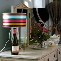 Let There Be Light with Old Wine Bottles