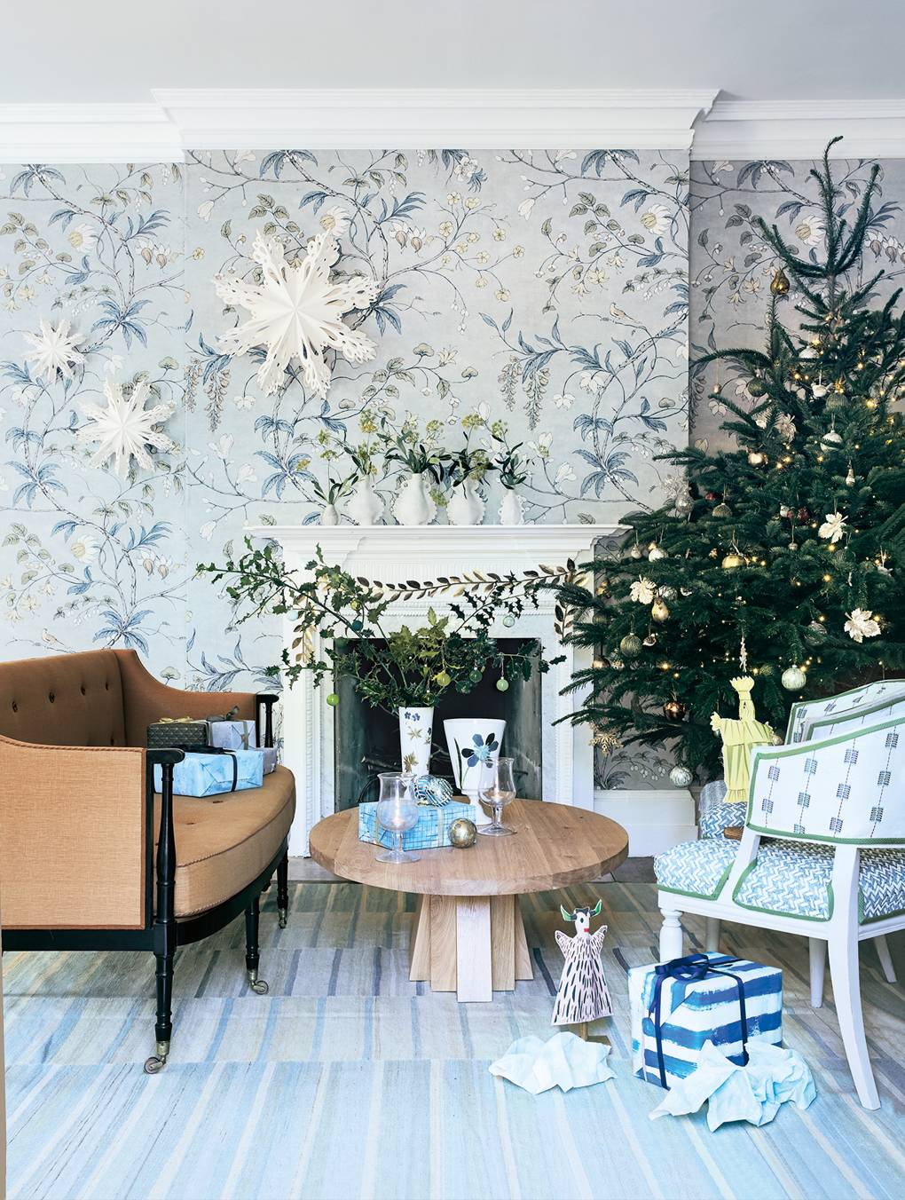 A Scandinavian-inspired Christmas curated by our decoration editors