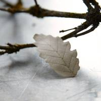 Plaster Leaves Tree