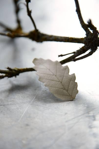 Plaster Leaves Tree