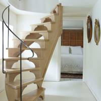 Custom oak staircase
