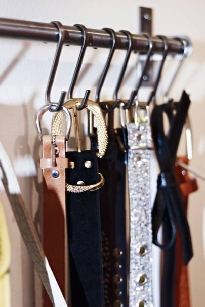 Hang a Belt Rack