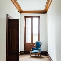Minimal White Hallway