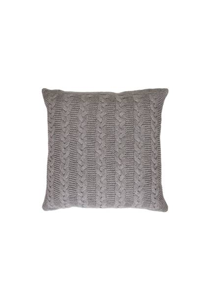 December 3: Kelly Hoppen Lambswool Knit Cushion in Grey, £60