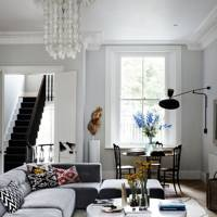 Seventies glamour mixed with mid-century Scandinavian