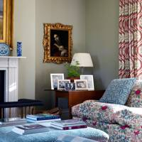 Patterned Drawing Room Fabrics