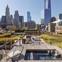 Roof Garden with Plunge Pool
