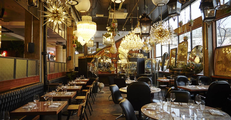 Gizzi Erskines New Restaurant Mare Street Market House