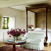 Traditional Bedroom with Four Poster Bed