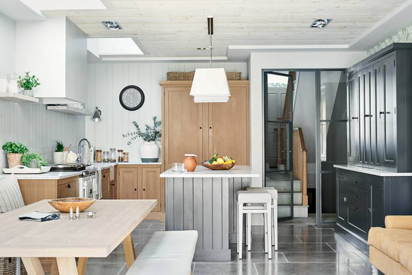 Small Open Plan Kitchen Design Ideas House Garden