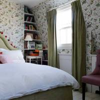 Petite Floral Bedroom