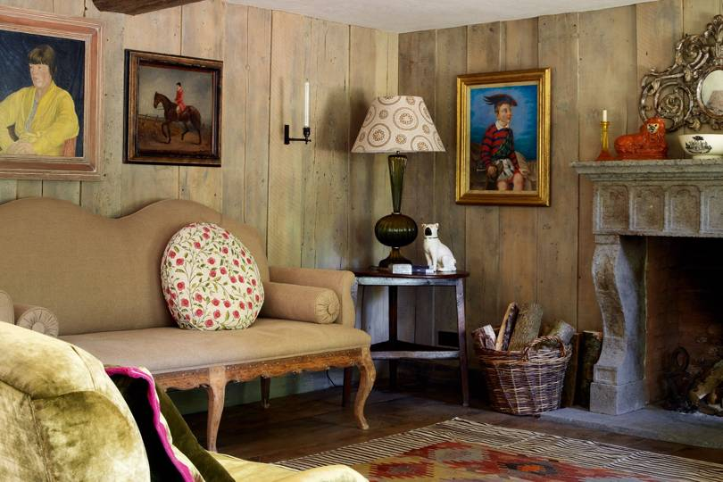 Vogue editor Robin Muir's and Paul Lyon Maris country home ...