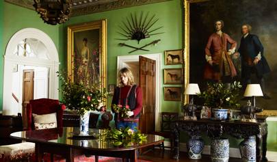 Catherine FitzGerald and her husband, actor Dominic West, have rescued her ancestral home in Ireland