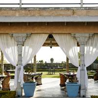 Curtained Shaded Patio