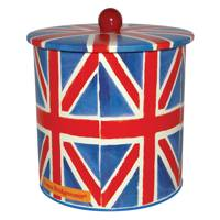 Union Jack Biscuit Tin