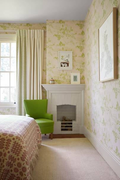 Farm Wallpaper Bedroom
