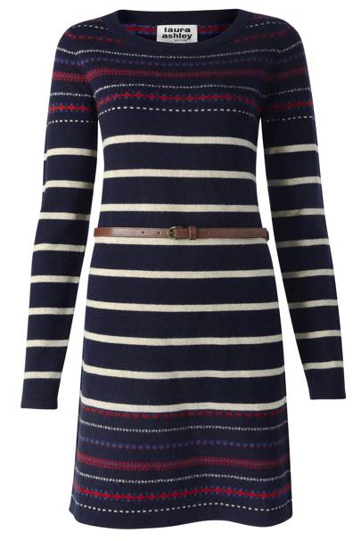 Belted Knit Dress