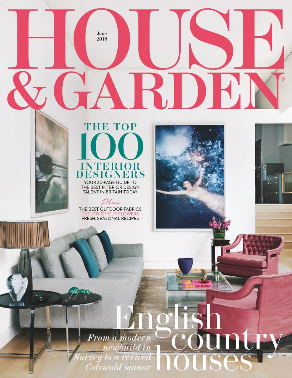 House U0026 Garden Magazine New Top 100 Interior Designers List June Issue | House  U0026 Garden