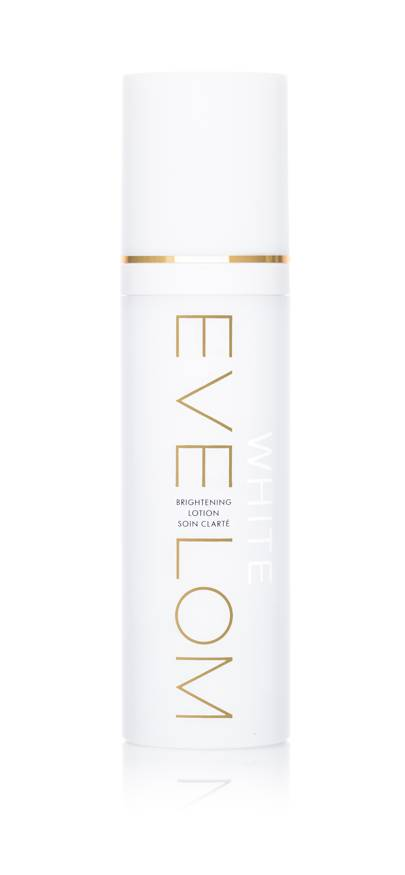 March 31: EVE LOM WHITE Brightening Lotion 120ml, £60.00
