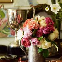 Cut Flowers From the Garden - An English Flower Garden