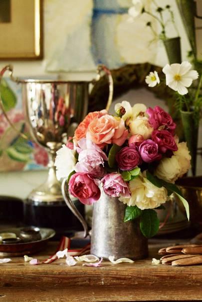 Cut Flowers From the Garden - An English Flower Garden