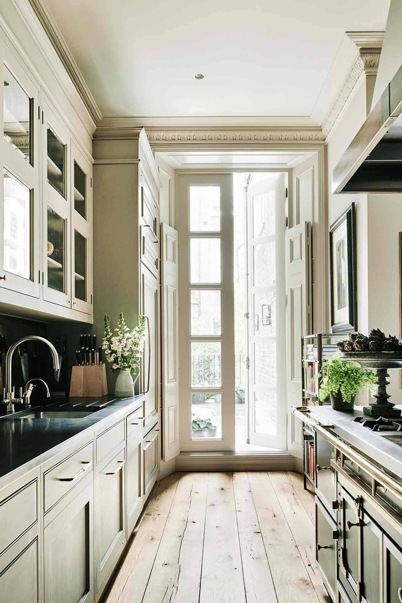 Galley kitchen   House & Garden