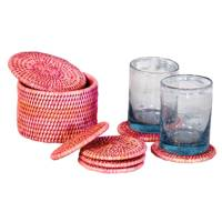 May 3: Kalinko Latha Coasters in Pink, £22