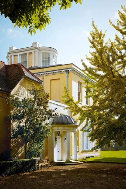 Bradwell Lodge Neoclassical Pavilion English Country