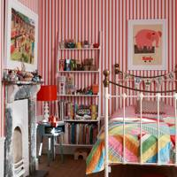 Striped Kids Room | Kids Bedroom Ideas & Designs