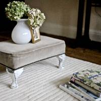 Upcycle a Footstool