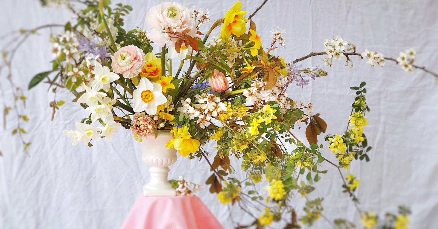 Hazel Gardiner on how to make floral arrangements sing