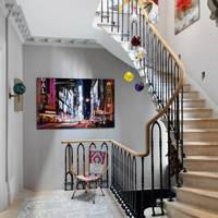 Entrance Hall Modern chandelier l | Hallway Design Ideas