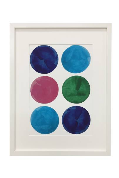 October 18: Erskine Rose Sestet Print A3, £79