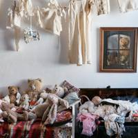 Child's Bedroom with Teddy Bear Collection