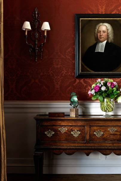 Dining Room Sideboard - English Garden Square House