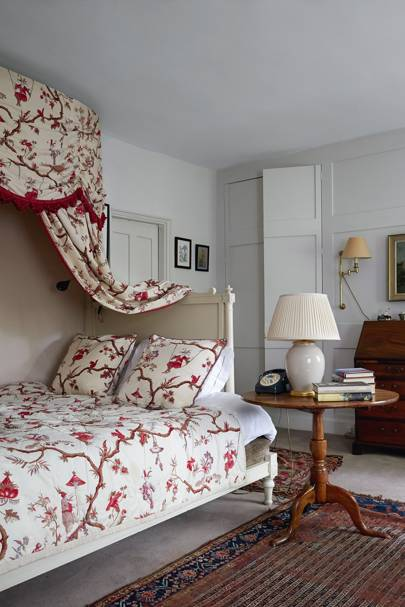 Georgian House Bedroom - Clare Mosley