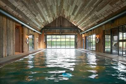 Cabin Indoor Swimming Pool