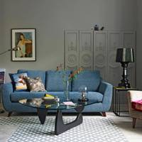 Grey living room ideas and grey living room designs for Living room ideas john lewis