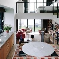 Open Plan with Mezzanines | Small Space Design Ideas