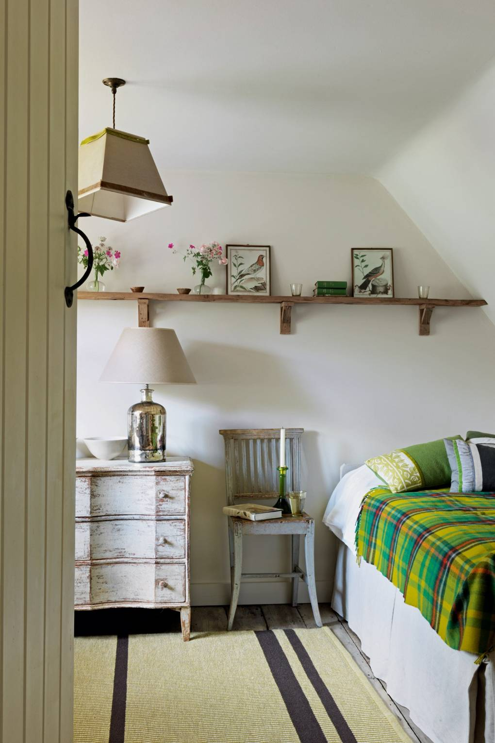 Small Cottage Bedroom - Small Space Ideas | House & Garden on insurance for small homes, interior designs for small homes, style for small homes, tips for small homes, home decor for small homes, furniture for small homes, gardens for small homes, gifts for small homes, curtains for small homes, bar designs for small homes, interior decorating ideas for small homes,