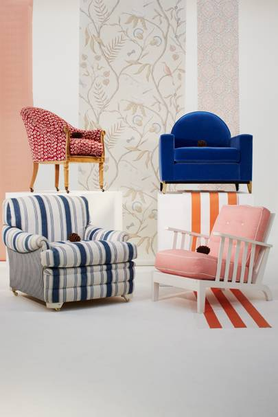 Armchairs and Wallpapers We Love , page 45