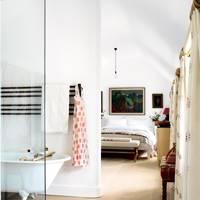 Main bedroom and bathroom