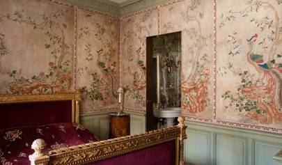Alvise Orsini Replica Eighteenth century Chinese wall panels - Bedroom Design Ideas