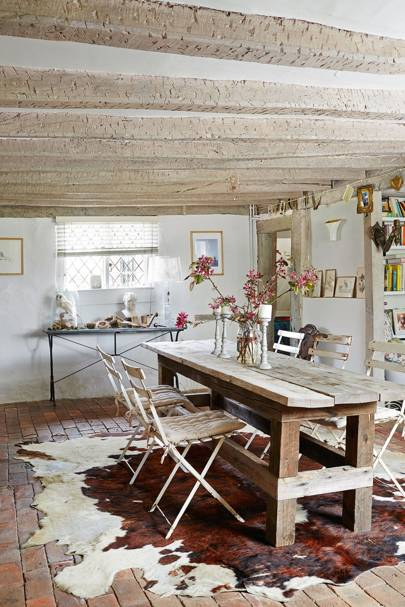 Brick and Stone - Dining Room Ideas