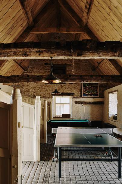 Games Room - Restored Georgian House in Somerset