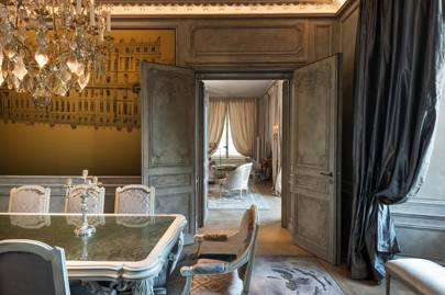 Karl Lagerfeld's legacy lives on in the suites he created for the Hôtel de Crillon