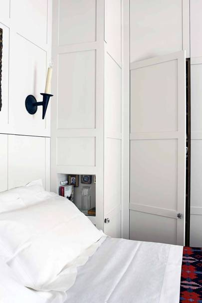 White Bedroom Cupboard Storage